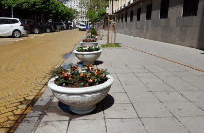 поддържане на обществени зелени площи