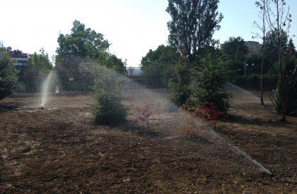 поддържане и поливане на зелени площи